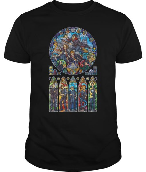 Harry Potter Stained Glass Shirt